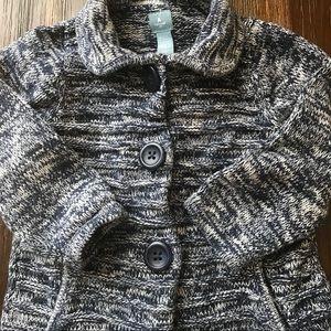 GAP Shirts & Tops - Baby Gap Navy Blue Cardigan 2yr